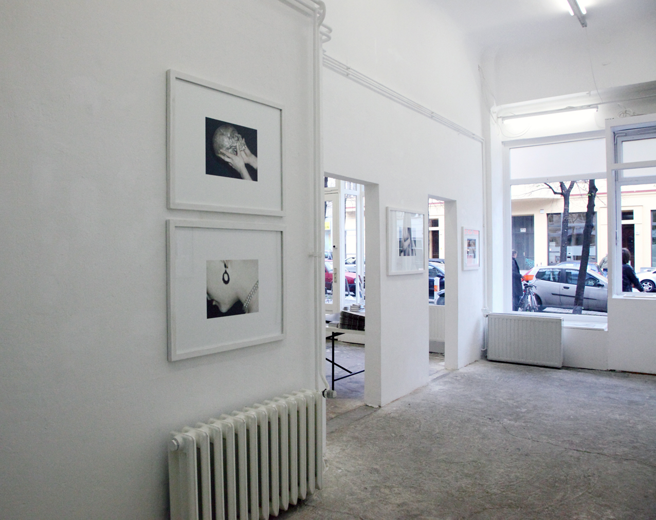 Exhibition view, gallery en passant, berlin