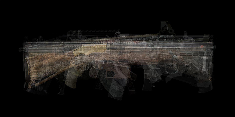 ultraimage - survival rifle, 2018, Fineartprint, 100 x 200 cm und 40 x 80 cm, je Ed. 3 + 1 AP